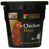 Custom Culinary Gold Label Base, Chicken, 1 Pound