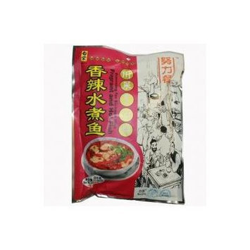 Baijia - Fragrant and HOT Fish Seasoning 7.05oz z (pack of 2)