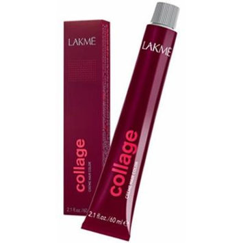 Lakme Collage Permanent Creme Hair Color 5/30 Gold Light Brown 2.1 oz