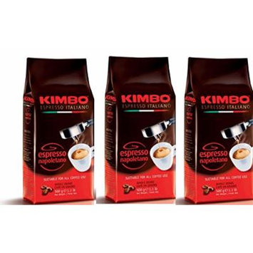 Kimbo Espresso Napoletano Whole Bean Coffee - 500 grams