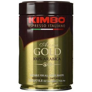 Kimbo Espresso Coffee Italiano Aroma Gold 100% Arabica 3 Cans