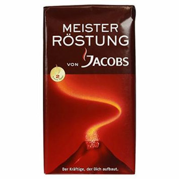 Jacobs Coffee Jacobs Meister Rostung Ground Coffee, 17.6-Ounce Packages (Pack of 3)