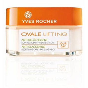 Yves Rocher Ovale Lifting Anti-Slackening Redensifying Night Care - Face and Neck, 50 ml(+45 years)