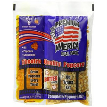 Great Western Premium America Canola Oil Dual Pack Popcorn, 36 Count (Pack of 36)