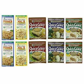 ROADS END ORGANICS , All Gluten Free Variety Pack - 2 Each [Gluten Free] (Organic Ingredients) 1 Oz [10 Pack]