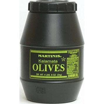 Martinis Select Kalamata Olives Whole- 2 Kilo (4.4 Lbs)
