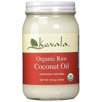 Kevala Organic Raw Coconut Oil, 16 Ounce