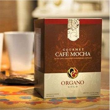 2 Boxes Organo Gold Gourmet Cafe Mocha with Ganoderma Lucidum Extract + Free 2 Sachets Gano Excel Ganocafe Mocha Coffee