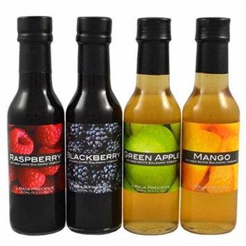 Infused Balsamic Quartetto - Raspberry, Blackberry, Green Apple & Mango (Pack of 4 x 150ml)