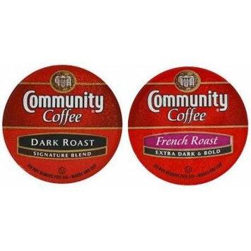 Community Coffee Dark Roast & French Roast K-Cups, 24 Count