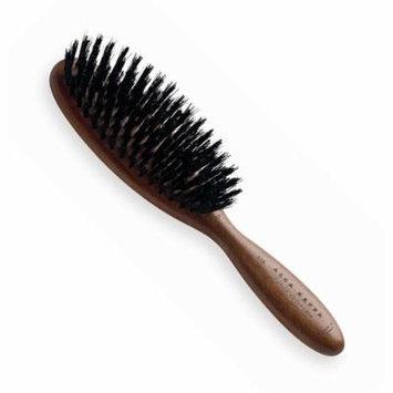 Acca Kappa Kotibe Wood Club Style Brush with Black Boar Bristles