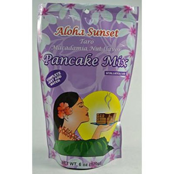 Taro Macadamia Nut Pancake Mix From Hawaii - 6 Oz Bag