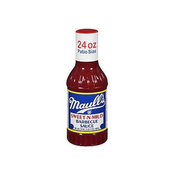 Maull's Sauce Barbecue Sweet-n-mild, 24 fz (Pack of 12)