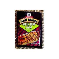 Grill Mates Garlic Herb & Wine Marinade, .87 Oz Envelope (4 Pack)