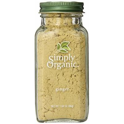 Simply Organic Ginger Root Ground Certified Organic, 1.64-Ounce Container (Pack of 2)