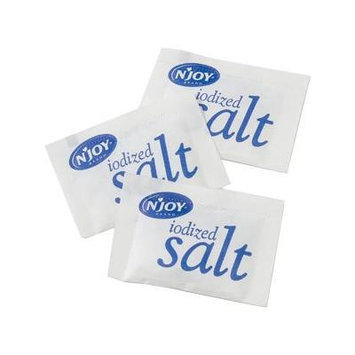 N'Joy Portion Packets Iodized Salt 3000 ct