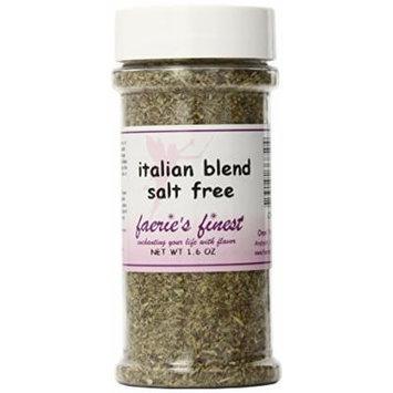 Faeries Finest Italian Blend, Salt Free, 1.60 Ounce