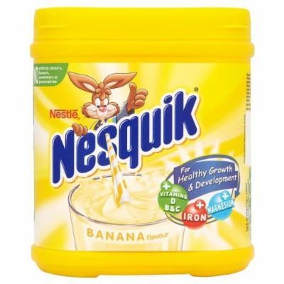 Nestlé Nesquik Banana Milkshake Mix Tub 500g