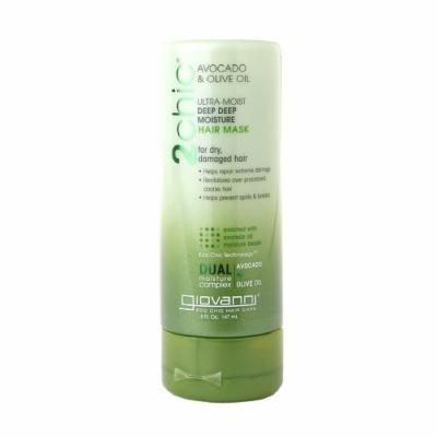 Giovanni 2chic Ultra-Moist Deep Deep Moisture Hair Mask Avocado & Olive Oil 5 fl oz (147 ml)