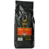 Marley Coffee, Organic Whole Bean Coffee, Getup, Stand Up, 2 Pound