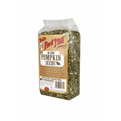 Bob's Red Mill Pumpkin Seeds, Raw, 24-Ounce Packages (Pack of 4)