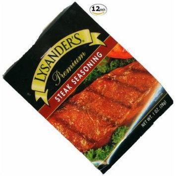 Lysander's Steak Seasoning - 12 Pack