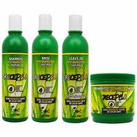 BOE Crece Pelo Fitoterapeutico Natural Shampoo & Rinse & Leave-in & Treatment