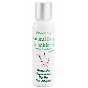 Baby Conditioner - Detangles and Softens Hair with Natural and Organic Ingredients - Relieves Scalp Conditions (Cradle Cap, Dermatitis, Eczema, Dandruff, etc) 8ounce