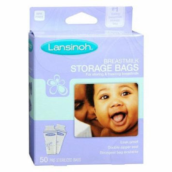 Lansinoh Breastmilk Storage Bags 50 Ea