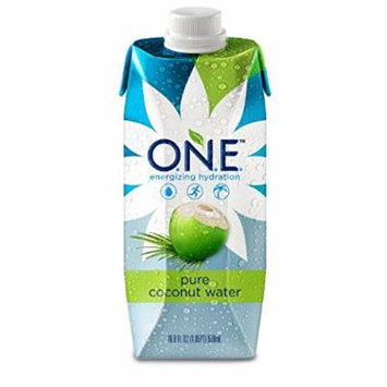 O.N.E. Pure Coconut Water, 16.9 Ounce (Natural, 16.9 Ounce- Pack of 24)