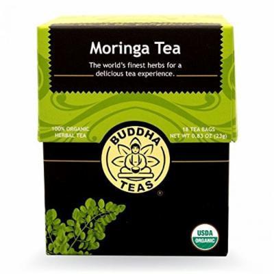 Moringa Tea - Organic Herbs - 18 Bleach Free Tea Bags
