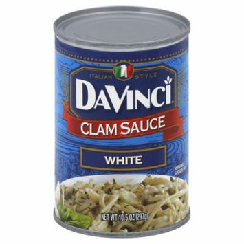 DaVinci Pasta Sauce, White Clam, 10.50-Ounce