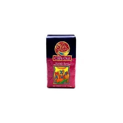Cafe Ole Straight Roast MEXICAN ALTURA Whole Bean Medium Roast 12 oz. (Pack of 2)