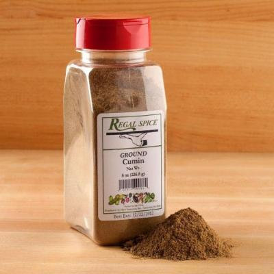 Regal Herbs, Spices, Seasoning 8 ounce (Ground Cumin)