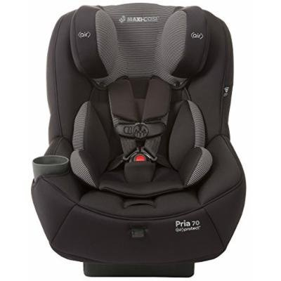 Maxi-Cosi Pria 70 Convertible Car Seat with Easy Clean Fabric and BONUS 20 Ounce Flavor Infusing Water Bottle, Black Gravel