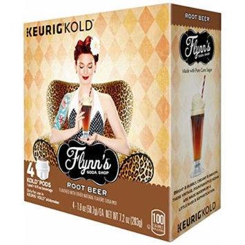 Keurig Flynn's Soda Shop Drink Mix, Root Beer, 4 Count