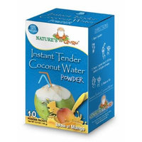 Nature's Guru Instant Tender Coconut Water & Mango, 10-count (Pack of 1)