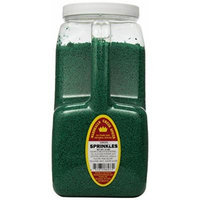 Marshalls Creek Spices Sprinkles, Green, XX-Large, 9 Pound