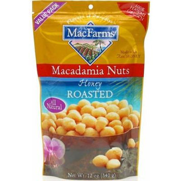 Honey Roasted Macadamia Nuts 12 oz.