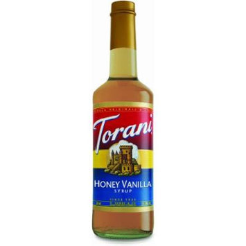 Torani Honey Vanilla Syrup, 750 mL