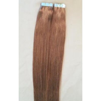 18 inches 100grs,40pcs, 100% Human Tape In Hair Extensions #10 Light Brown