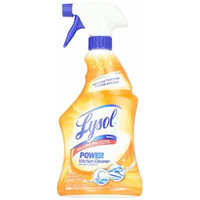 Lysol Power Kitchen Cleaner, 22 ounce Pack of 3