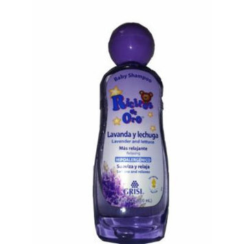 Extra-Grande!! Ricitos de Oro (lavanda y lechuga) Baby Shampoo 13.5 Fl Oz/ 400 ML