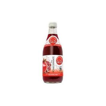 GUS Soda Dry Pomegranate 12 Oz(12 Pack)