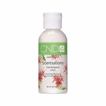 CND Scentsations Hand & Body Lotion Dark Bergamot 2 oz.