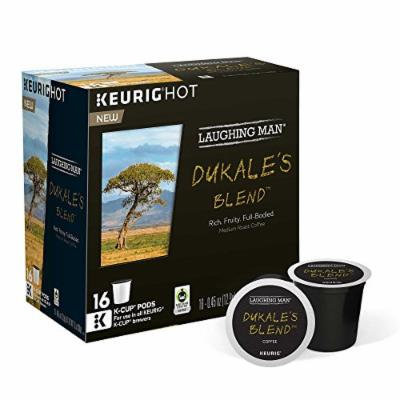 Laughing Man Dukale's Blend Coffee K-Cups (16 K-Cup Pods)