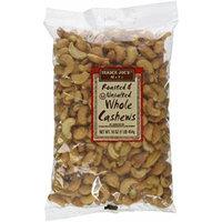 Trader Joe's Roasted & Unsalted Whole Cashews 1lb