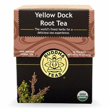 Yellow Dock Root - Organic Herbs - 18 Bleach Free Tea Bags
