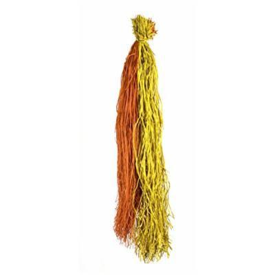 SuperMoss (30423) Raffia Rainbow Hanks, Yellow-Orange, 1lb