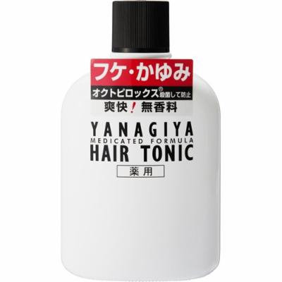 YANAGIYA Hair Tonic No Fragrance for Dandruff, Itch 240ml (Japan Import)